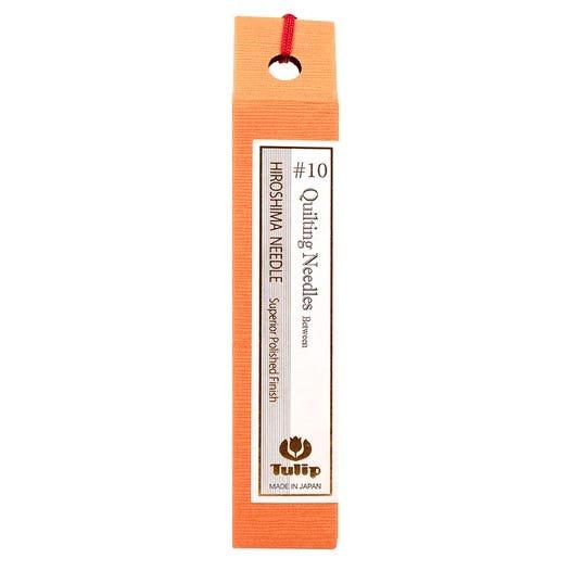 Hiroshima Tulip Japan Quilting Needles Size 10 Vial of 6 Needles THN005
