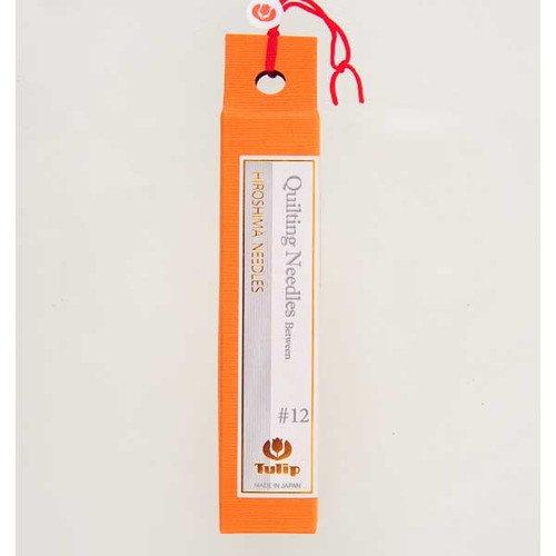 Hiroshima Tulip Japan Quilting Needles Size 12 Vial of 6 Needles THN006