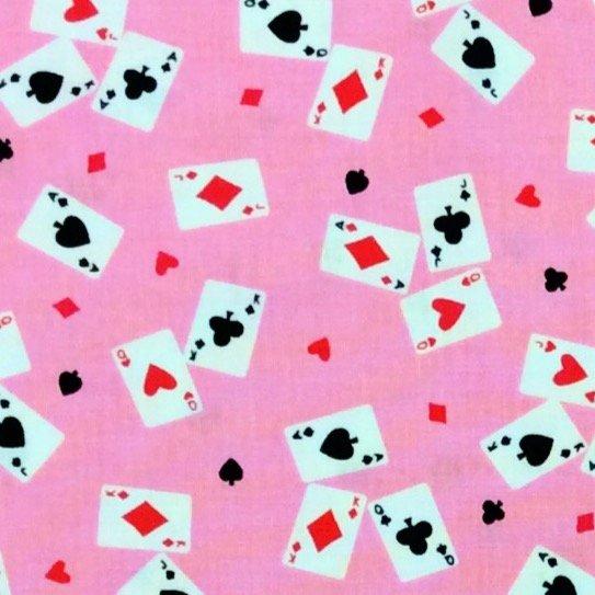 Alice in Wonderland TT88 Cute Cards Tea Time Adventures Cotton Quilt Fabric