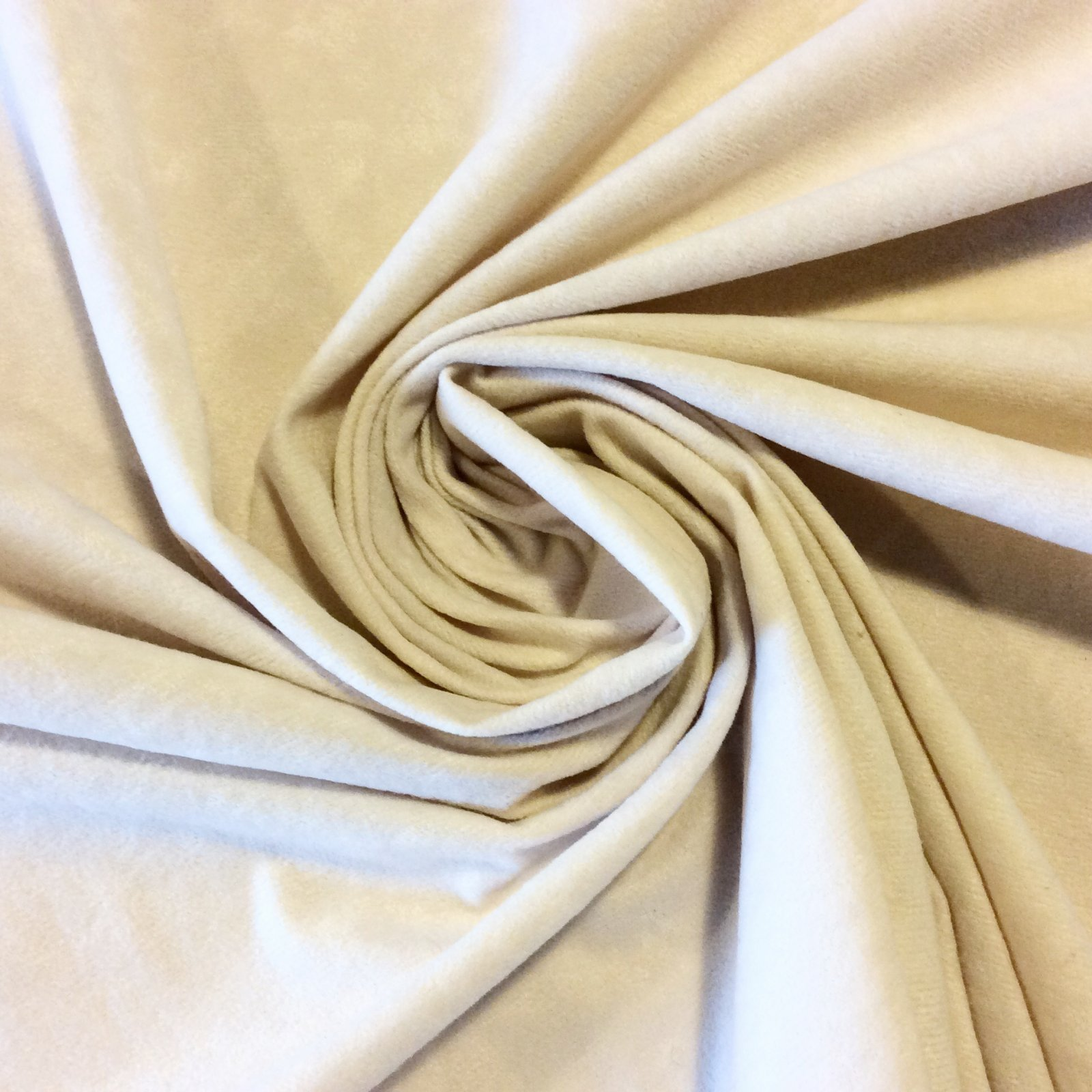 WB36 Ivory Faux Suede Soft Cotton Poly Fabric Upholstery Drapery Apparel wide width CLOSEOUT