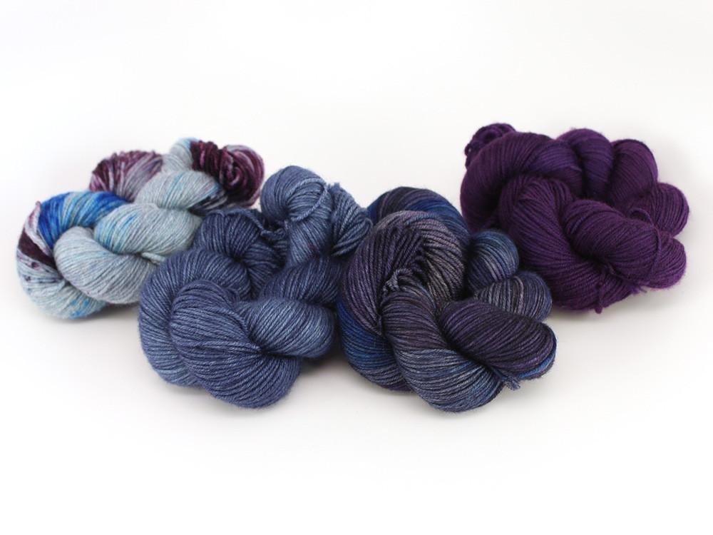 Gradient Yarn Quartets