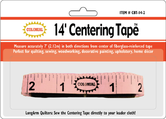 Centering Tape 14'