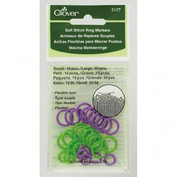 3107 Soft Stitch Ring Markers