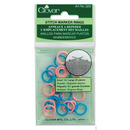329 Stitch Ring Markers