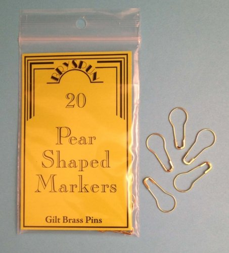 Bryson Pear Pins Brass