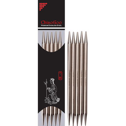 ChiaoGoo 6 Double Point Needles