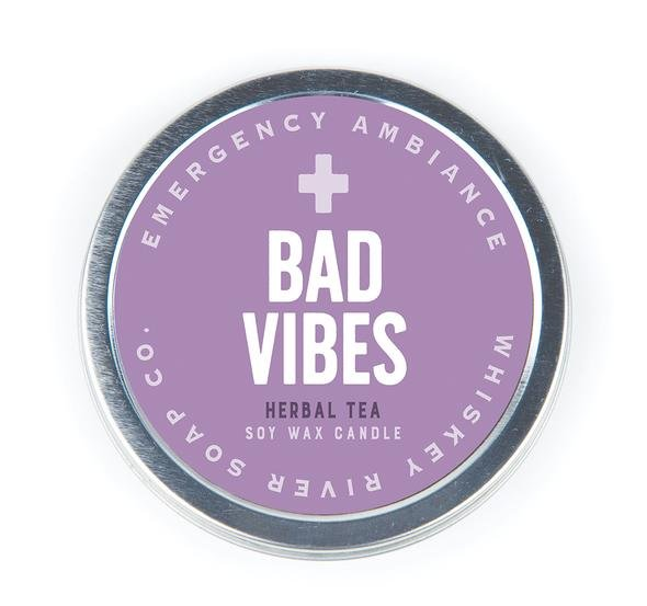 Emergency Ambience Candle Tin
