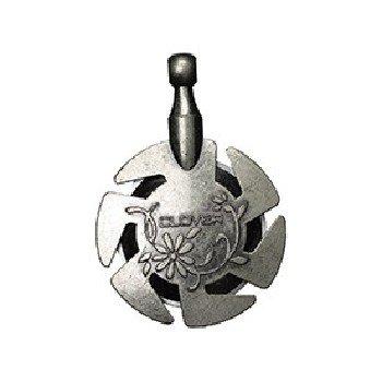 3106 Yarn Cutter Pendant Silver