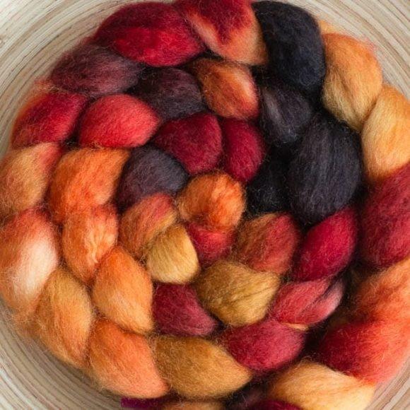 Polwarth & Silk Phoenix Rising