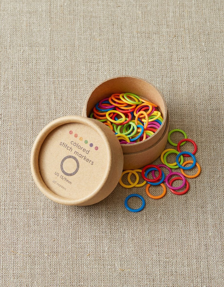 Cocoknits Colored Stitch Markers Lg