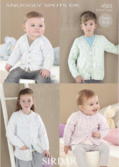 Snuggly Spots DK Pattern #4565