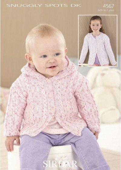 Snuggly Spots DK Pattern #4567