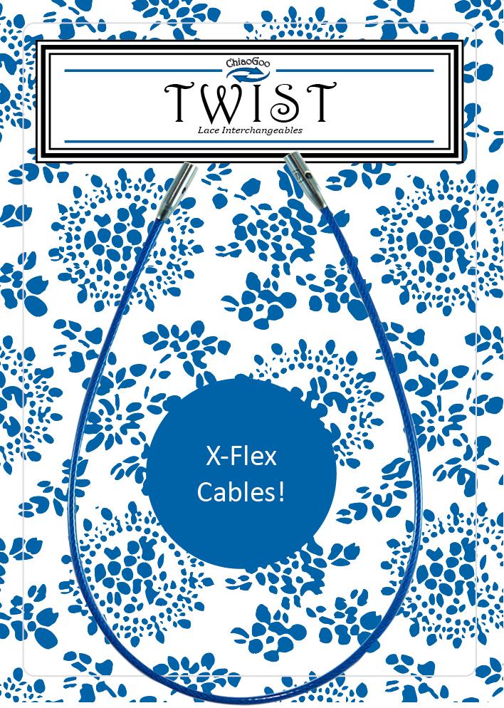 ChiaoGoo Twist X-Flex Blue Cable 5 (S)