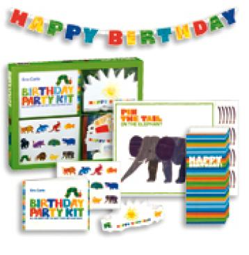 Eric Carle Birthday Party Kit Book and Kit
