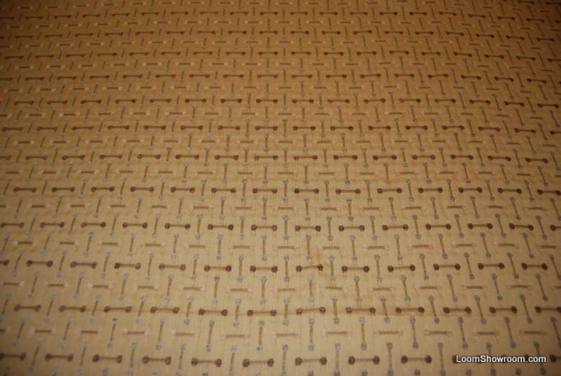 Mid Century Modern Retro Eames Style Barbell Upholstery Fabric Heavy