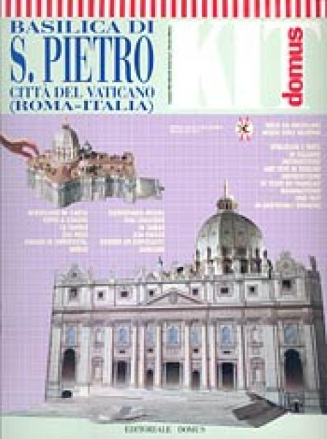 St. Peter's Basilica (Basilica di S. Pietro) Vatican City: Italy Model Kit 236 Pieces