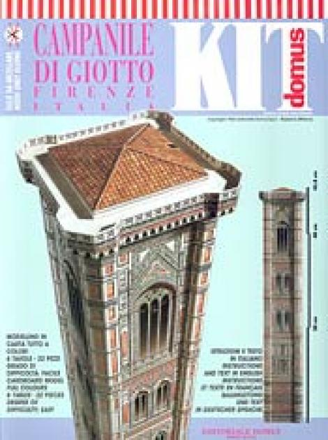 Giotto's Bell Tower (Campanile di Giotto) Florence: Italy Model Kit 22 Pieces