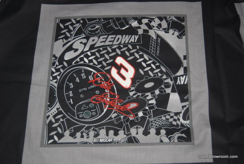 839 Dale Earnhardt Sr. Nascar Officially Licensed Sports Racing Pillow Panel Cotton fabric Quilt fabric