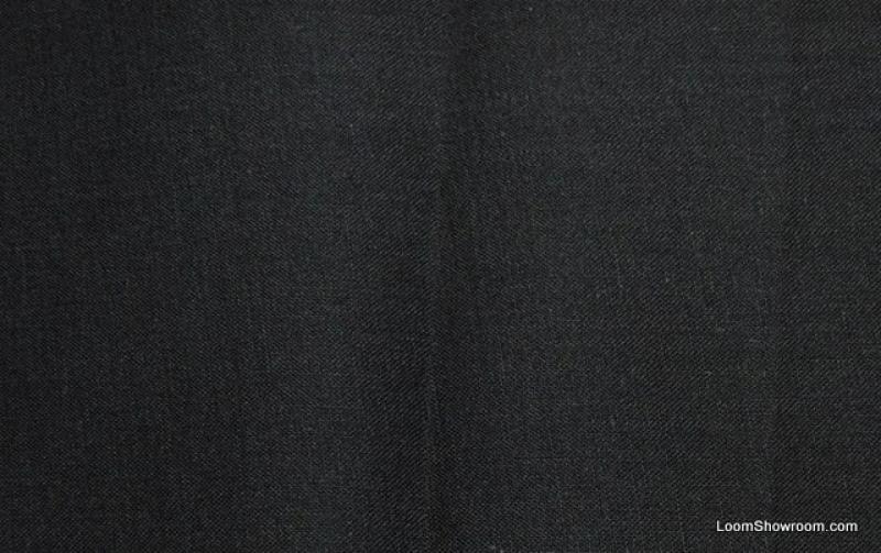 Solid Black Cotton Fabric Quilt Fabric AB0136