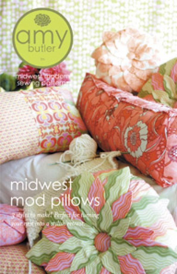 Amy Butler Midwest Mod Pillows Amy Butler Pattern