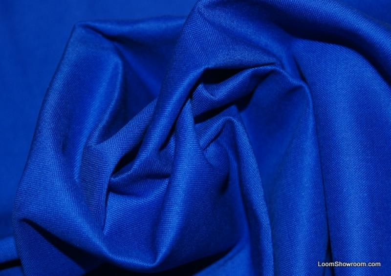 Cobalt Blue Solid Cotton Fabric Quilt Fabric AC012