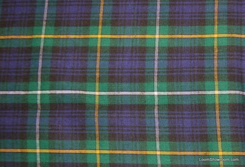 Plaid Green Blue Reversible Brushed Flannel Side & Smotth Cotton ... : flannel quilt fabric - Adamdwight.com
