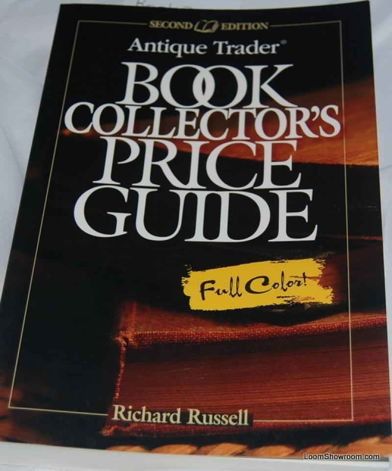 Book 302 Antique Book Collector\'s Price Guide in Full Color! By ...