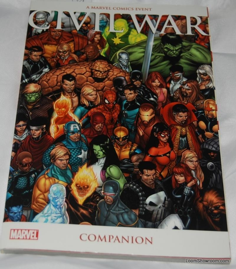 Book339 Marvel Civil War Comics Event Companion by Various Authors and Artists Antique Collectible Vintage Collector and Value Guide and Reference New Book Super Hero