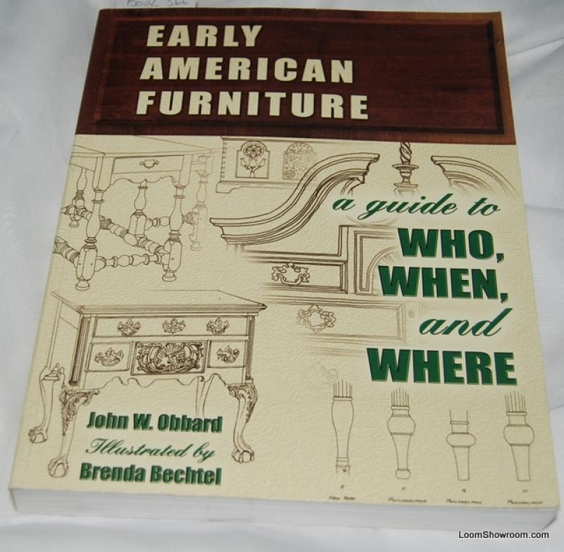 Book366 Early American Furniture by John W. Obbard Antique ...