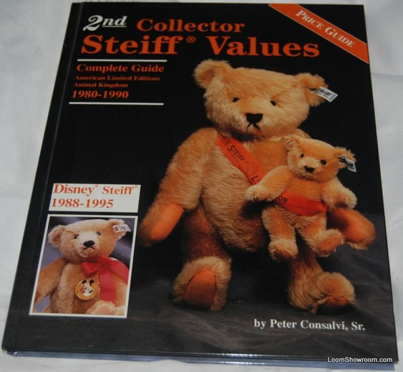 Book382 2nd Collector Steiff Values by Peter Consalvi Sr. Antique ...