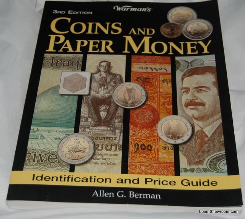 Book391 Warman\'s Coins and Paper Money by Allen G. Berman Antique ...