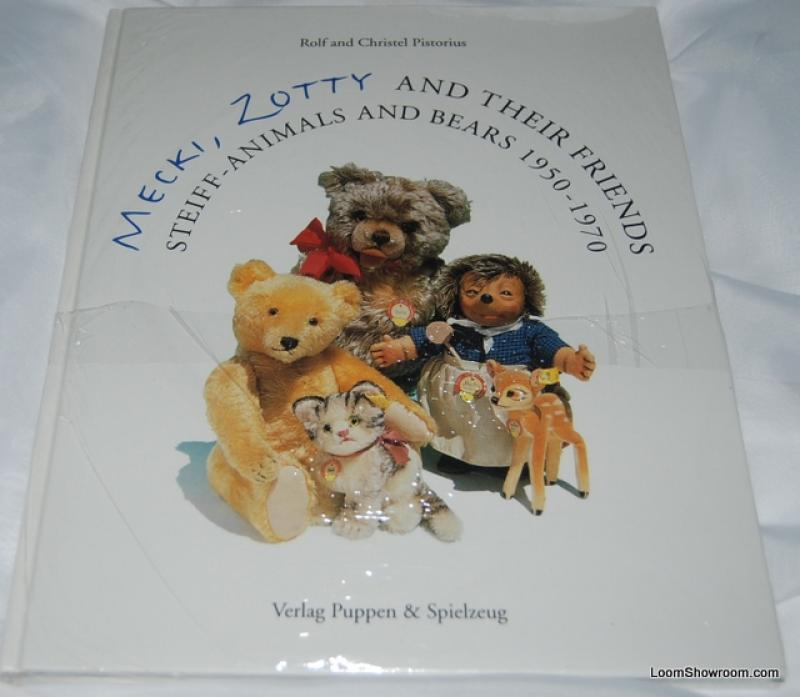 Book396 Mecki Zotty and Their Friends Steiff - Animals and Bears (1950-1970) by Verlag Puppen and Spielzeug Antique Collectible Vintage Collector and Value Guide New Book Toy Austria Germany