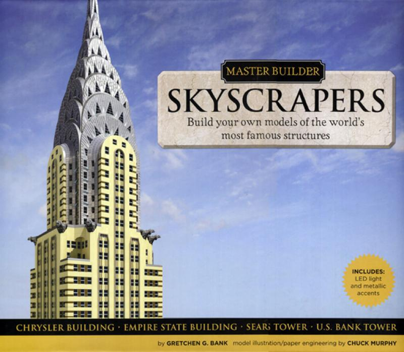 Master Builder: Skyscrapers by Chuck Murphy Gretchen G. Bank Book and Kit