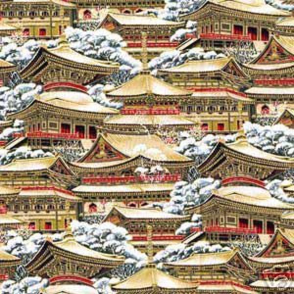 Japanese Geisha Fuji Kyoto Asia Japan Zen Cotton Fabric Quilt ... : japanese quilt fabric - Adamdwight.com