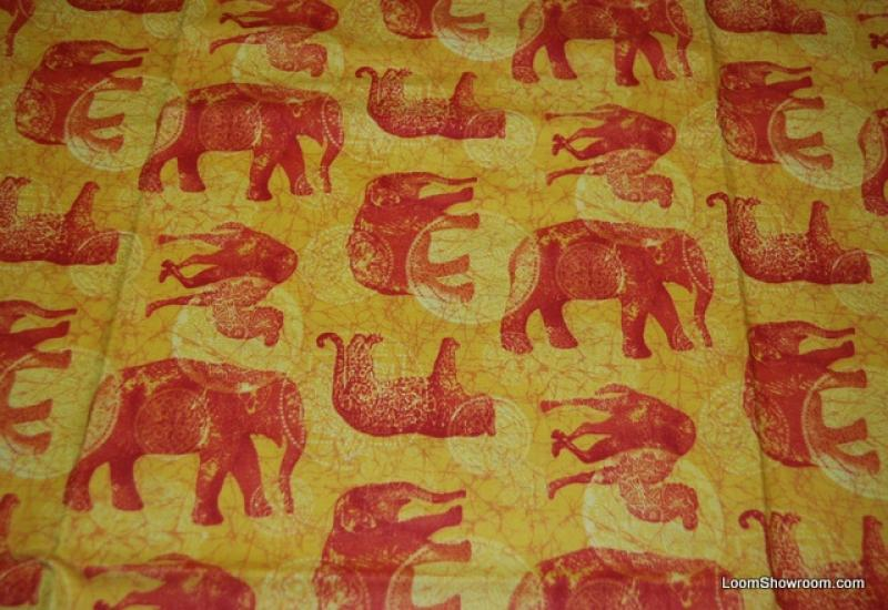 Jungle Animals Elephant Camel Cheetah Cotton Fabric Quilt Fabric C88