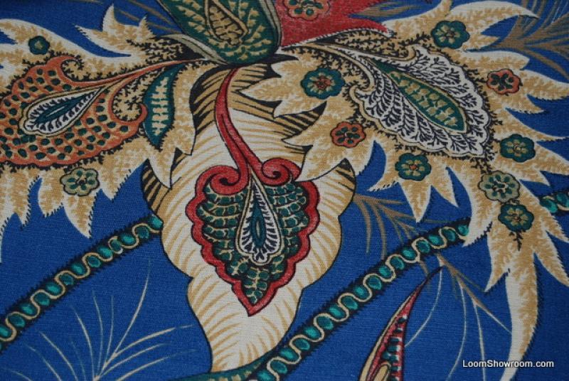 Ch289 Clarence House Beauvoir Cotton Linen Print Fabric England