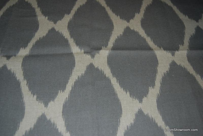 Ogee Exotic Contemporary Ikat Print West Elm Grey Ovals And Static