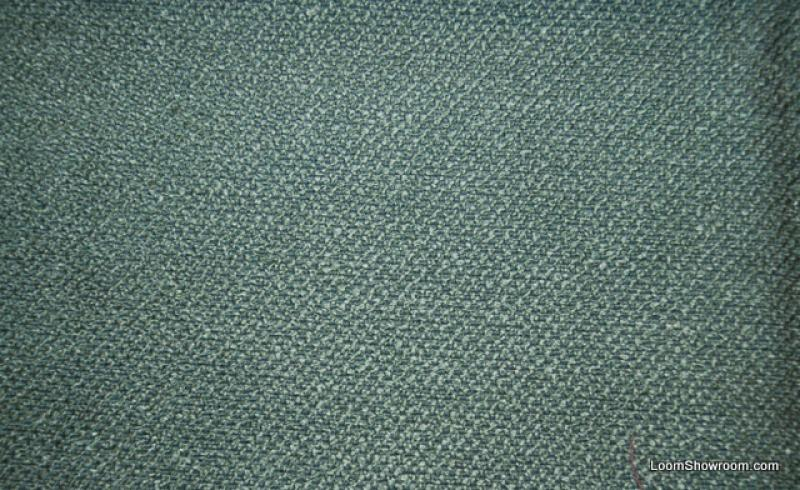 Slubby Linen Texture Zimmer Rhode Heavy Weight Sold Teal Green Cotton Fabric Upholstery DV180