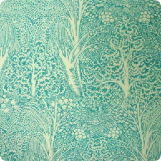 Arts And Crafts Style Fulham Road Cotton Lawn Fabric