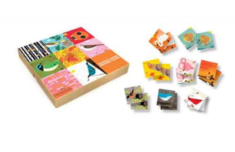 Charley Harper Art Memory Game
