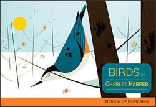 Charley Harper Birds Post Card Book