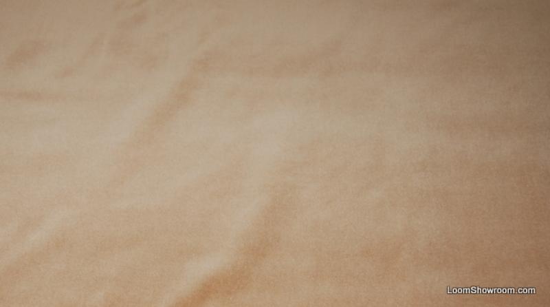 HD105 Light Brown Caramel Velvet Very JF Fabrics Soft Fabric Upholstery Fabric Drapery Fabric