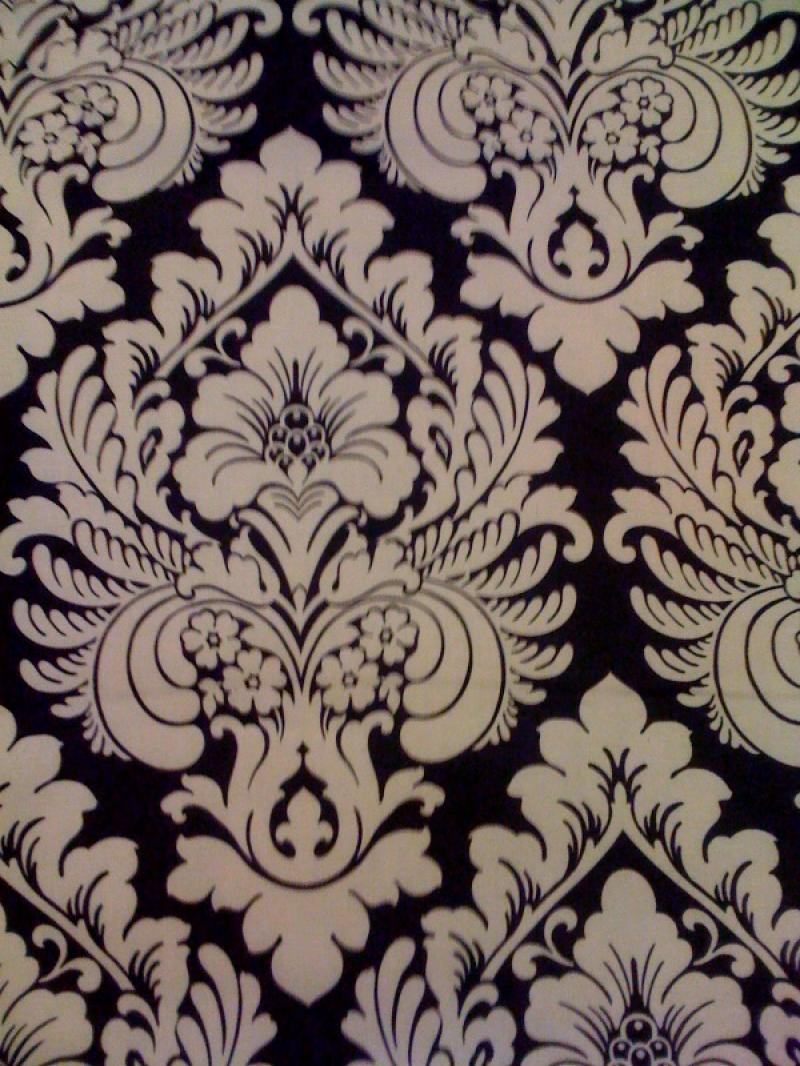 HD604 Damask Print Cotton Fabric