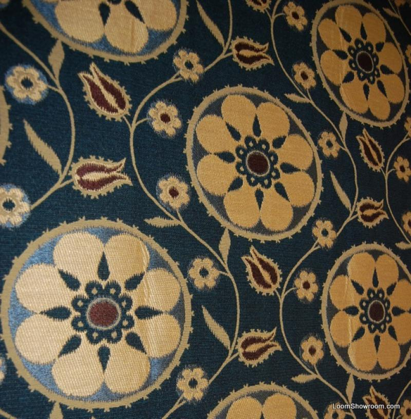 Suzani Heavy Weight Woven Tapestry Tribal Boho Chic Upholstery