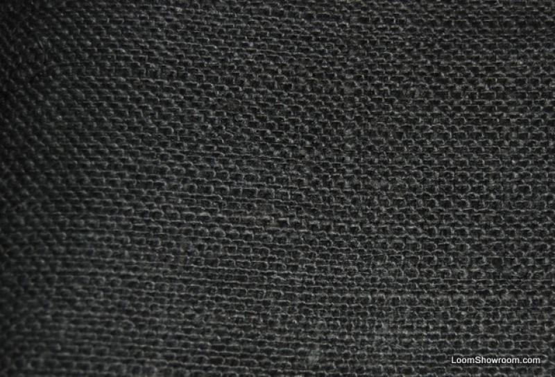Burlap Black Woven Country French Burlap Fabric Home Décor Fabric HDA039