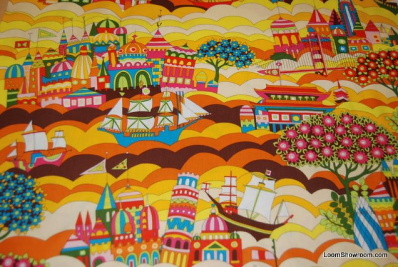 Around the world dolls of many lands retro travel great for Children of the world fabric