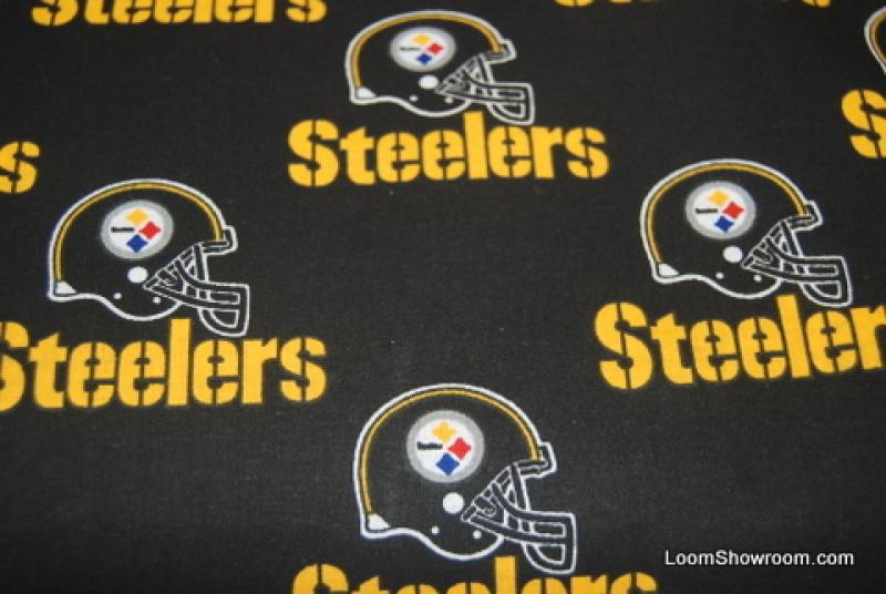 Fat Quarter! Pittsburgh Steelers NFL Football Sew Cotton Fabric FQNF71