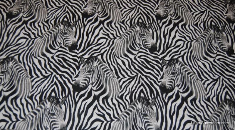 Zebras Pattern Wildlife Animals Safari Zoo cotton fabric quilt fabric N87