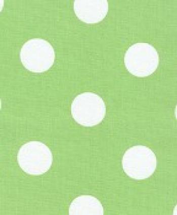 Polka Dot Lime Modern Awning Sun Outdoor Fabric S25
