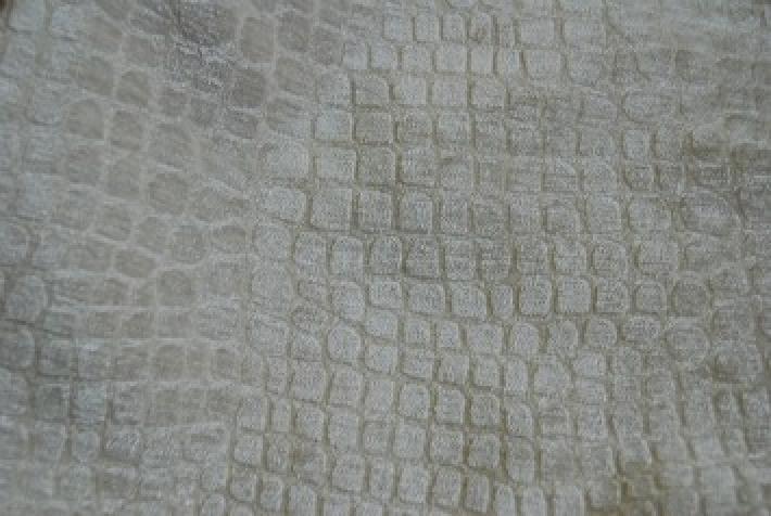 Velvet Crocodile Alligator Snake Skin Texture Velvet Heavy Upholstery Fabric OSRG101